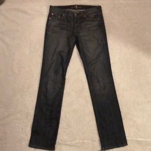 7 for all mankind Denim Jeans straight 29 x 34
